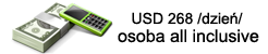 USD 268 /dzień/osobaall-inclusive