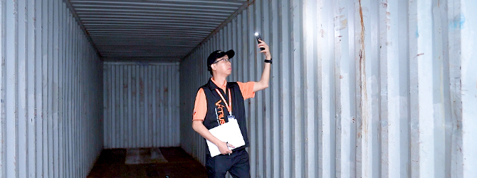 Container Loading Supervision - V-Trust Inspection Service